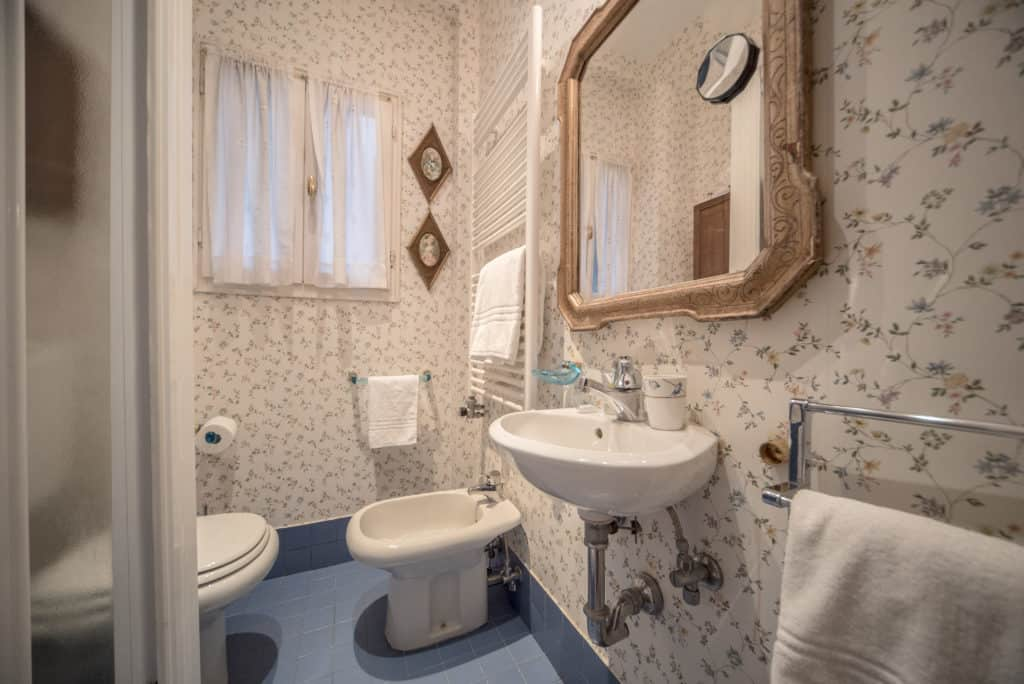 Small bathroom with shower - Accademia Terrazza Apartment