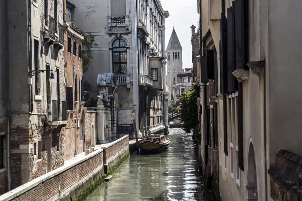 Small canal view outside the apartment - Altana Studio Apartment
