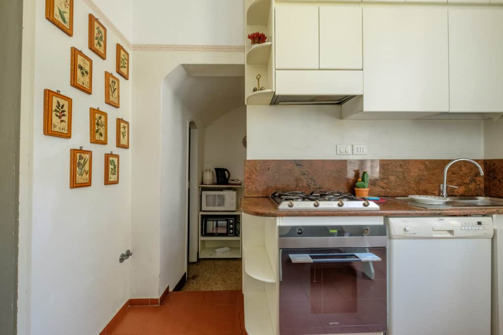 Luminous kitchen with oven - Ca' Affresco 1 Apartment
