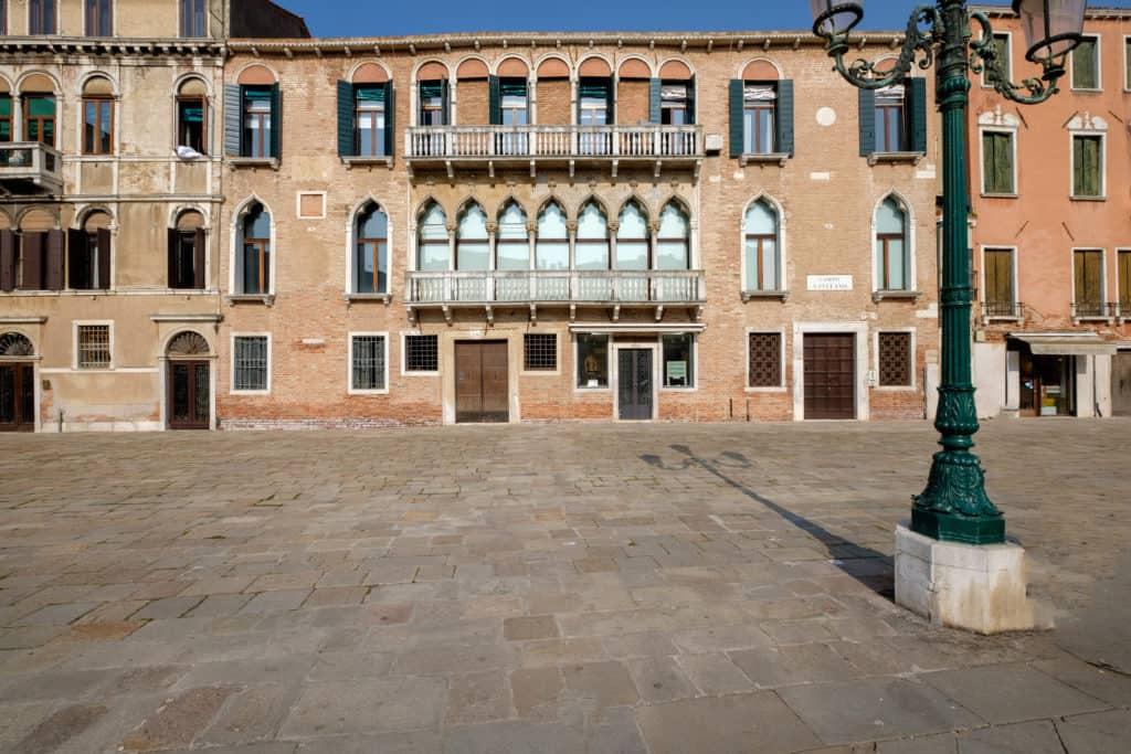 External facade - Ca' Affresco 1 Apartment