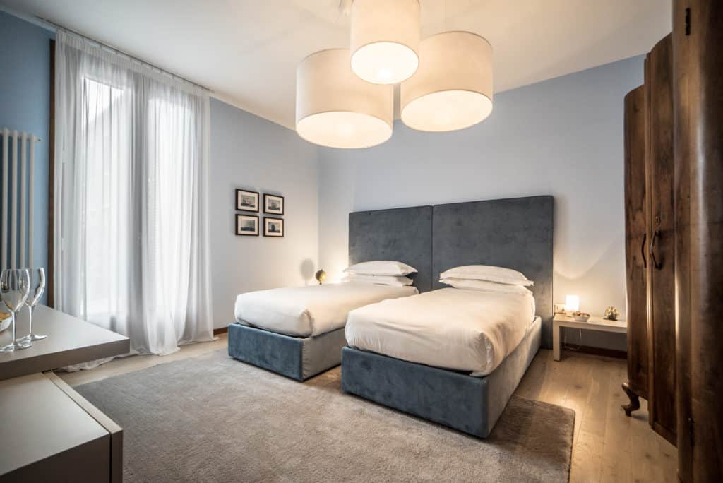 Two single beds - Ca' del Capitano Apartment