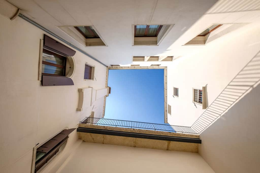 View of the sky from the court - Ca' Garzoni Moro - Clemente Apartment