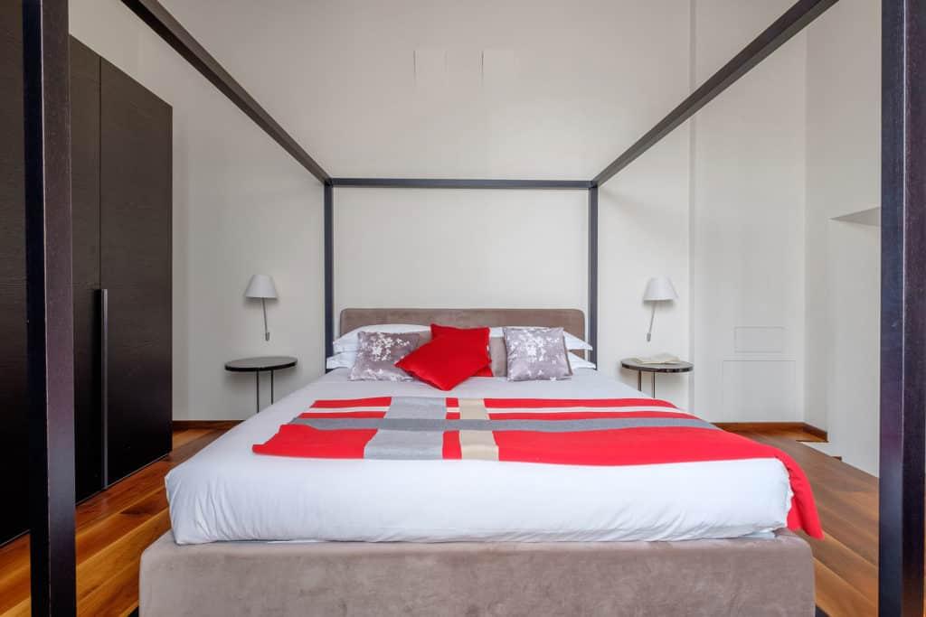 Big double bed - Ca' Garzoni Moro - Salina Apartment