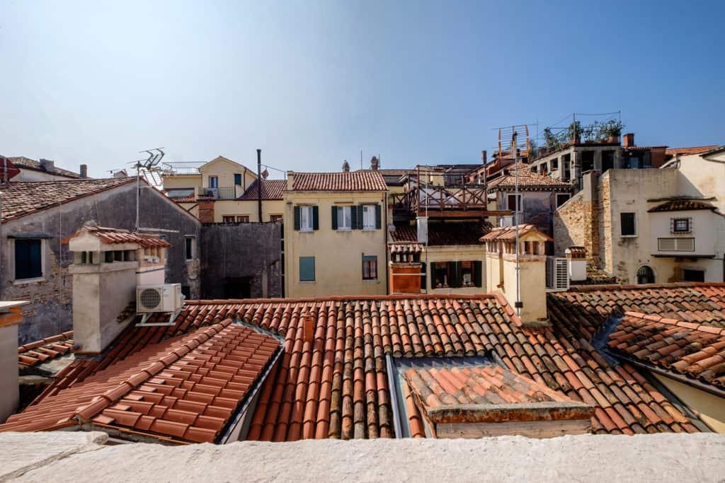 Panoramic view of the Venetian roofs - Ca' Garzoni Moro - Salina Apartment
