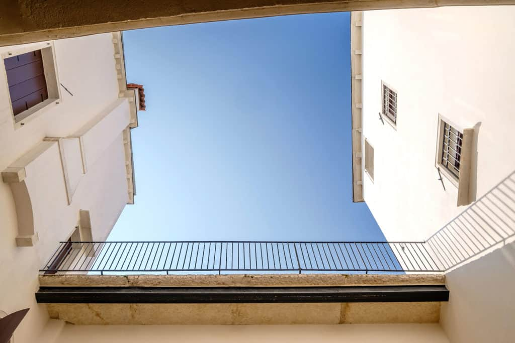 Sky view from the court - Ca' Garzoni Moro - Salina Apartment
