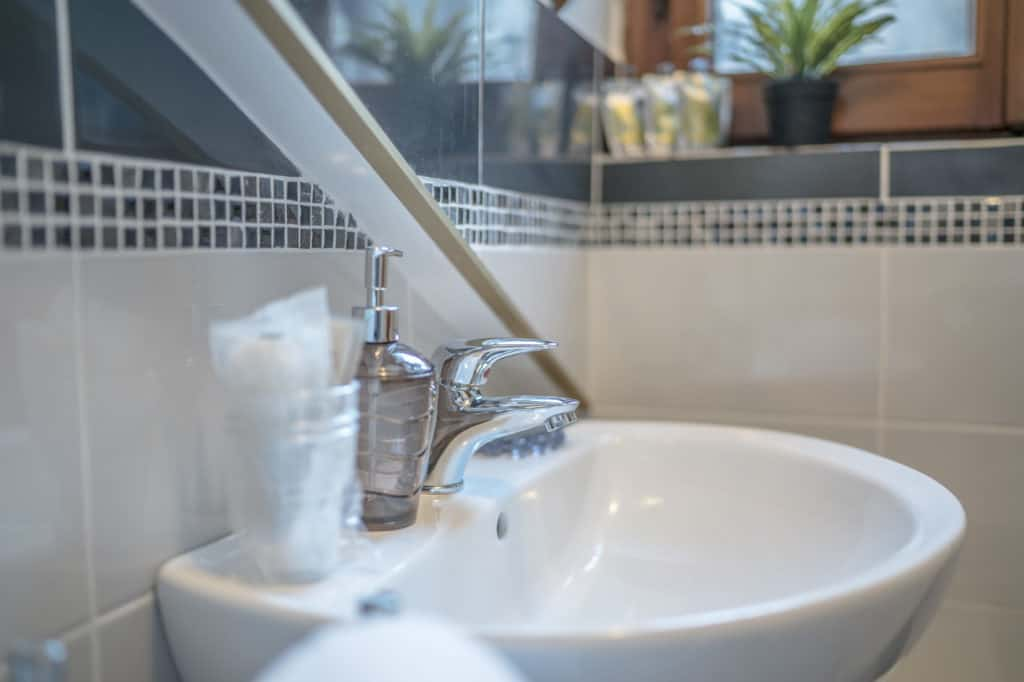 Detail of the sink - Ca' Alba Apartment