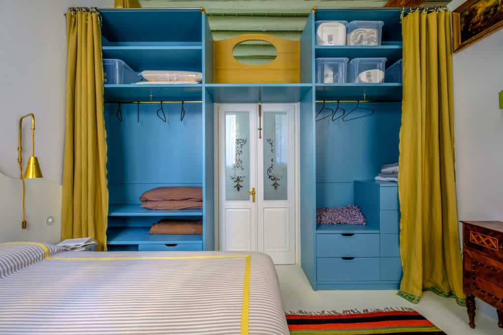 Entrance of the single bedroom with wardrobe - Ca' del Ramo d'Oro Apartment