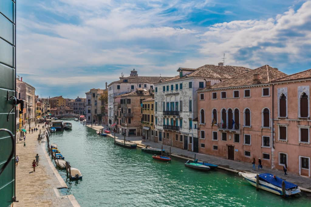Panoramic view from the window - Palazzina Canal Apartment