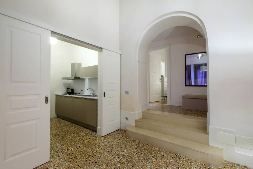 Main entrance hallways - Palazzo Molin Guaranà Apartment