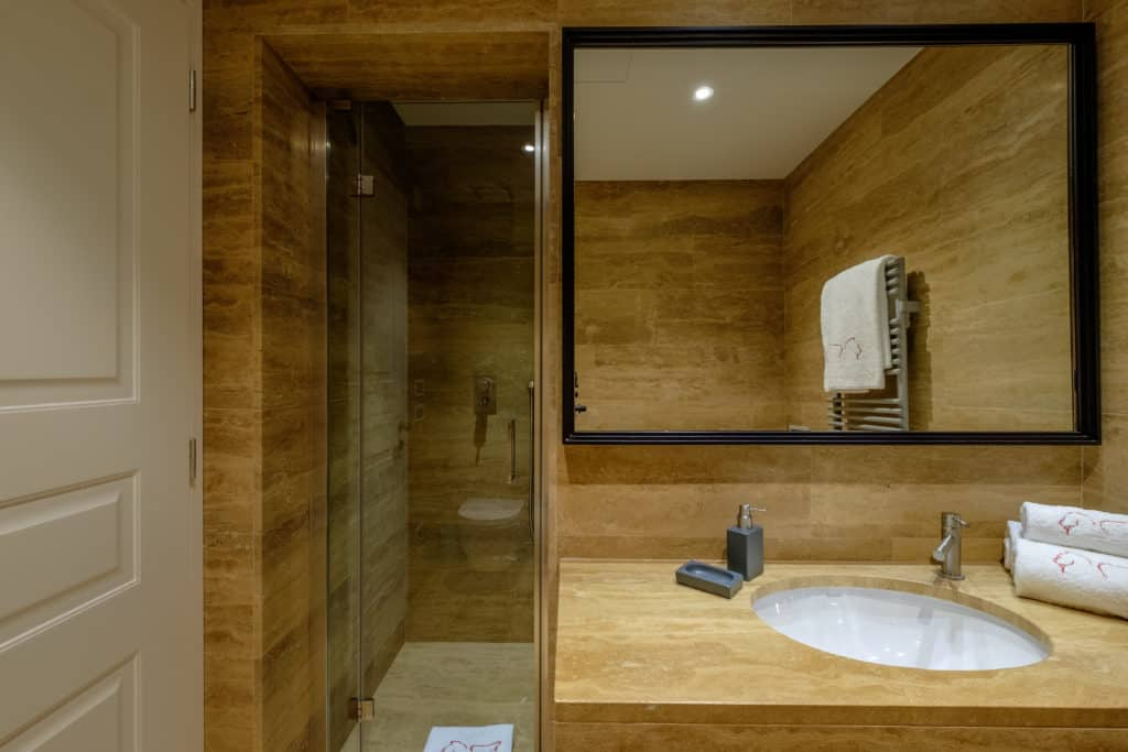 Small bathroom with shower - Palazzo Molin Guaranà Apartment