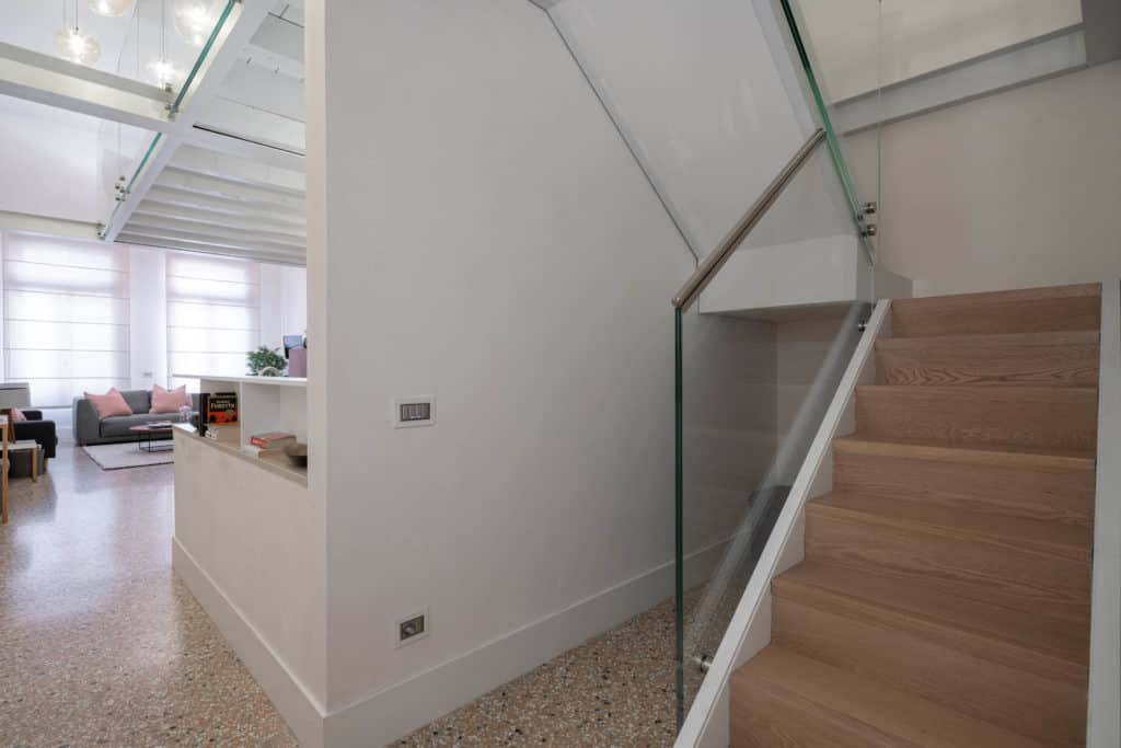 Staircase to the attic - Palazzo Molin Massari Apartment