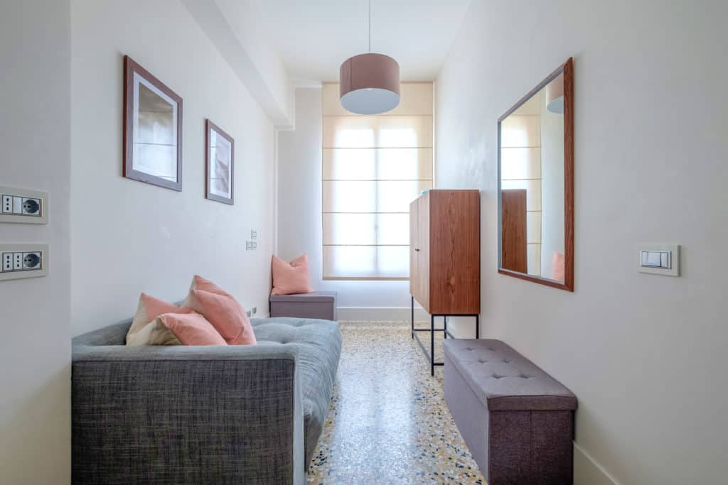 Small living room of the master bedroom - Palazzo Molin Tiziano Apartment