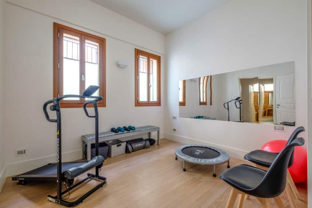 Small gym room - Palazzo Molin Tiziano Apartment
