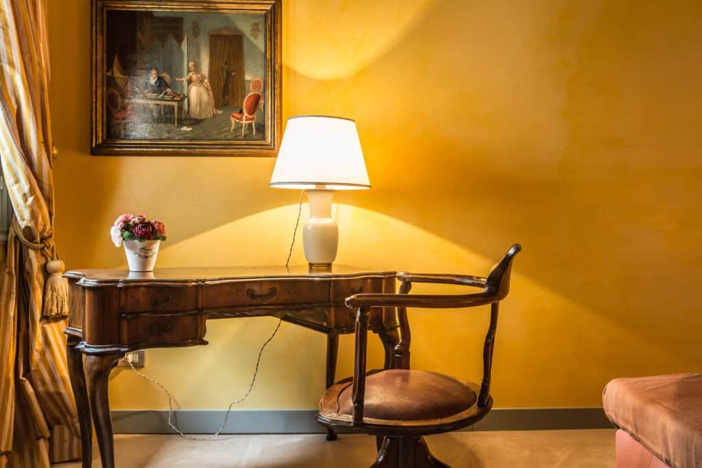 Antique Venetian desk - The Venetian Penthouse Apartment
